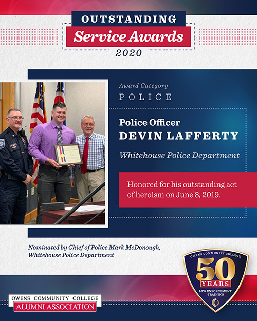 Officer Devin Lafferty, Whitehouse Police Department