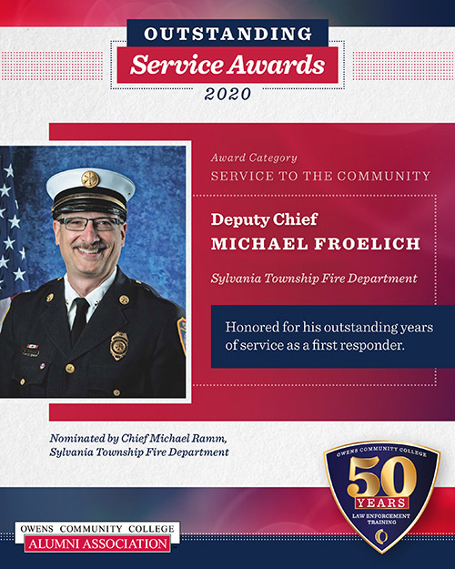 Deputy Chief Michael Froelich, Sylvania Township Fire Department