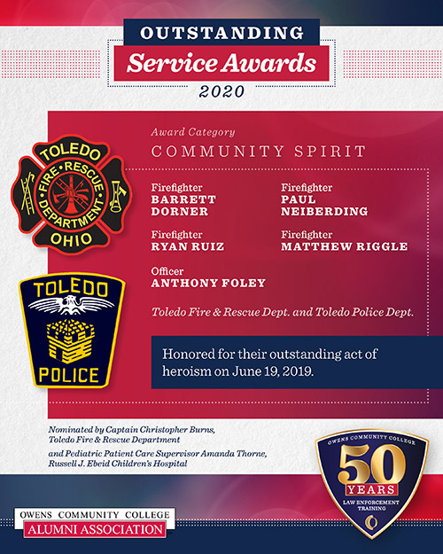 2020 Outstanding Service Award, Community Spirit