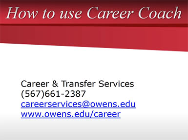 How to use Career Coach
