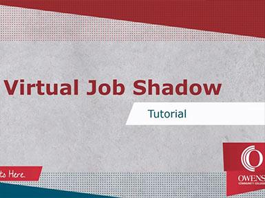 Virtual Job Shadow Tutorial