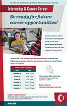 Internship and Career Corner, Toledo, Fall 2020