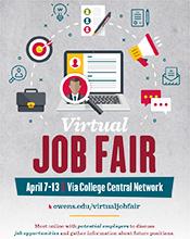 Virtual Job Fair April 7-13 2021
