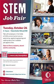 STEM Job Fair Oct 2021