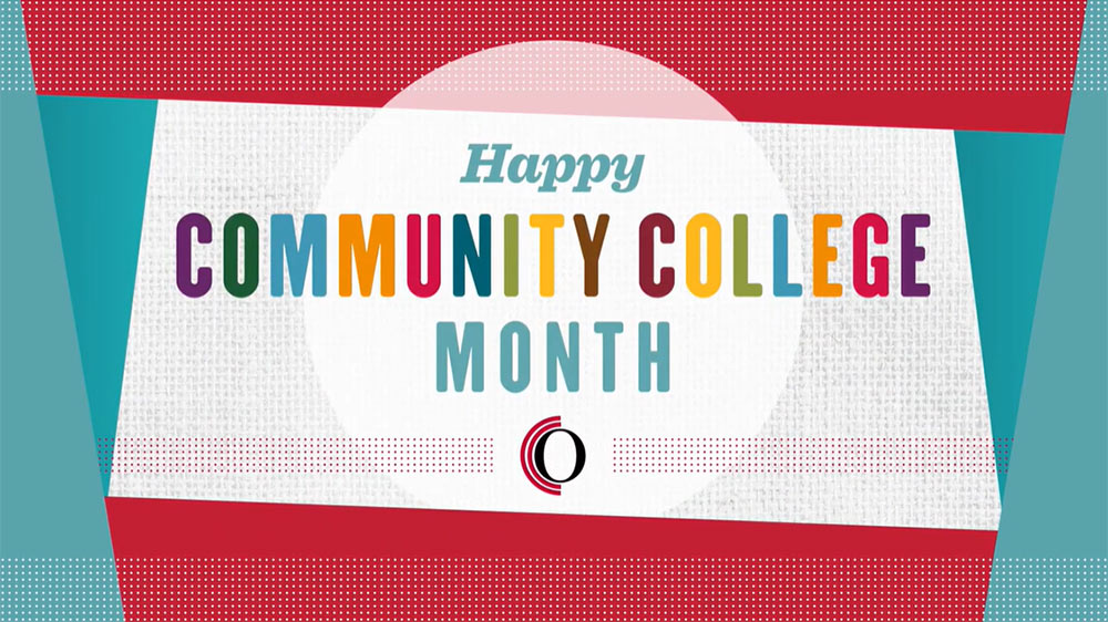 April is National Community College Month!
