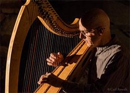 Billy Jackson, Scottish Harpist