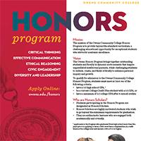 Honors Program Major Sheet