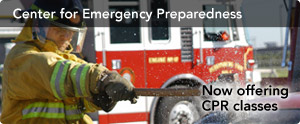 click to visit the Center For Emergency Preparedness