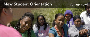 sign up now for New Student Orientation!