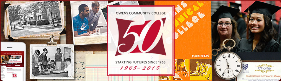 Owens Community College 50th Anniversary