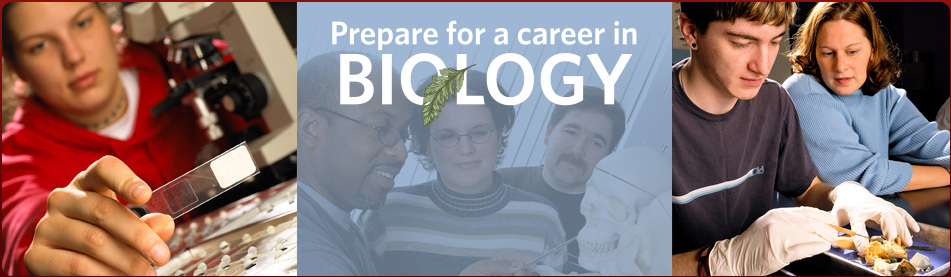 Prepare for a career in Biology