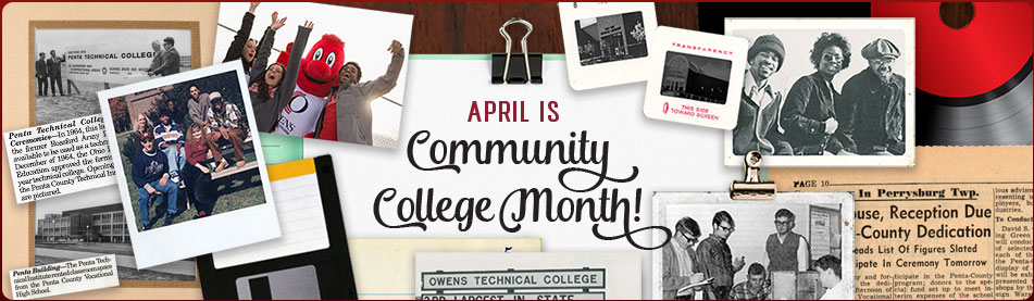April is National Community College Month. Join us!