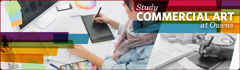 Study Commercial Art at Owens