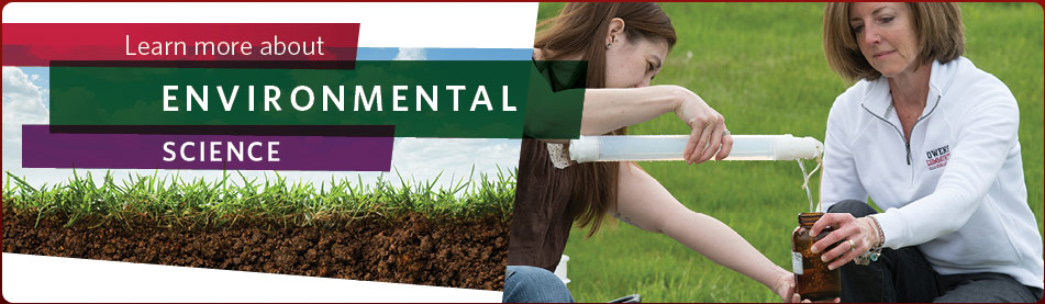 Learn more about Environmental Science