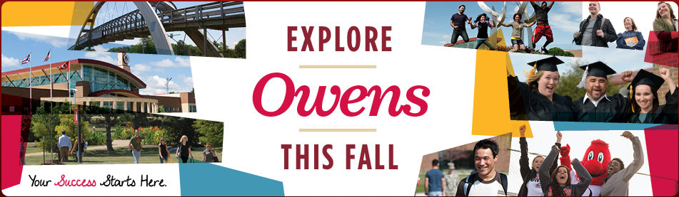 Explore Owens this Fall