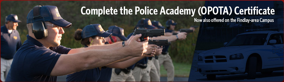 Complete the Police Academy Certificate