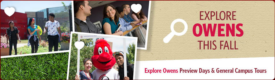 Explore Owens This Fall. Attend Preview Days & Special Events.