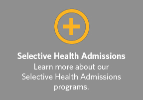 Selective Health Admissions