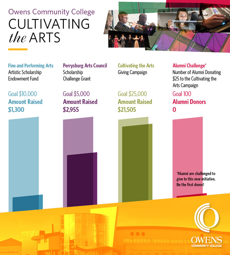 Cultivating the Arts Giving Tuesday chart