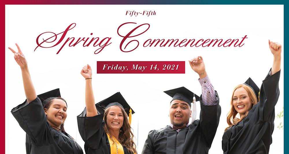 Spring 2021 Commencement May 14, 2021