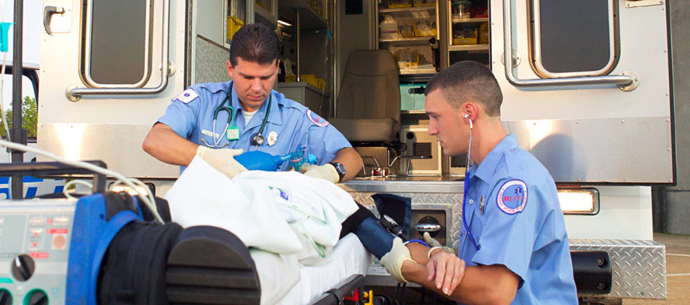 Train for a career as a first responder and be there when people need you the most