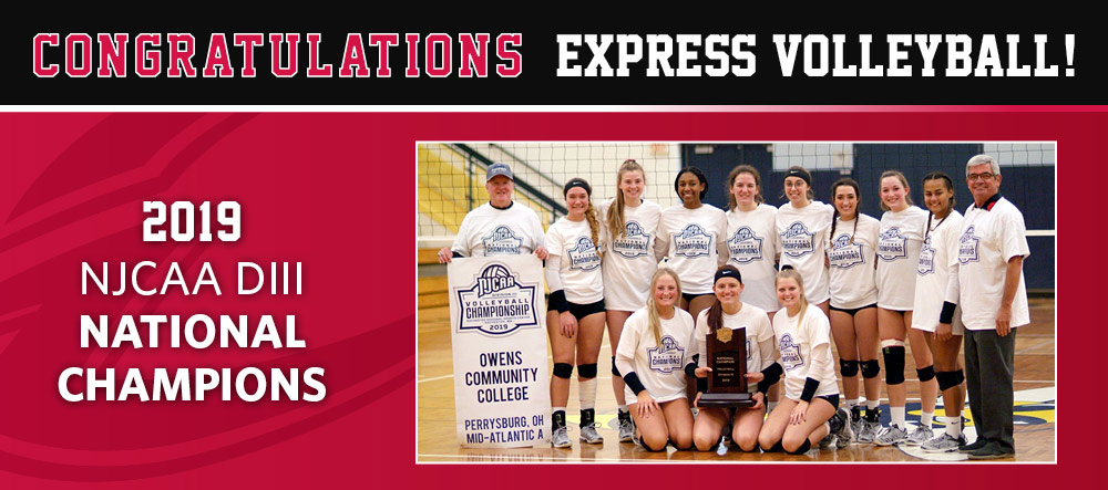 Owens Volleyball Wins Back to Back National Championships