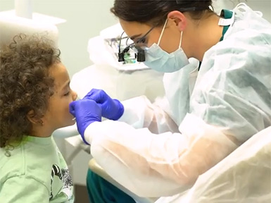 Owens Dental Hygiene program for Give Kids A Smile day