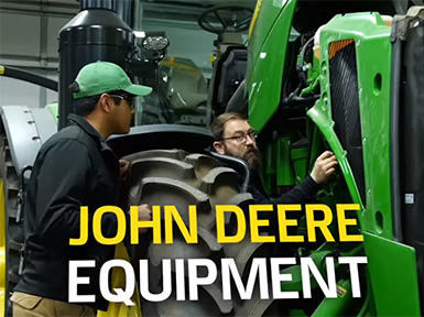 Watch now! Power up your career with the John Deere Tech program.