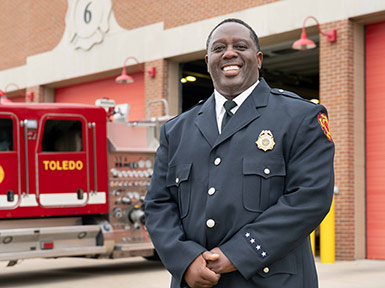 Andre Tiggs 2007 Fire Investigator City of Toledo Fire Department