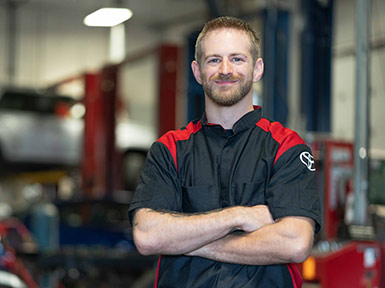 Cody Hanefeld 2010 Automotive Technician Yark Toyota