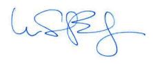 Dr. Bill Balzer signature