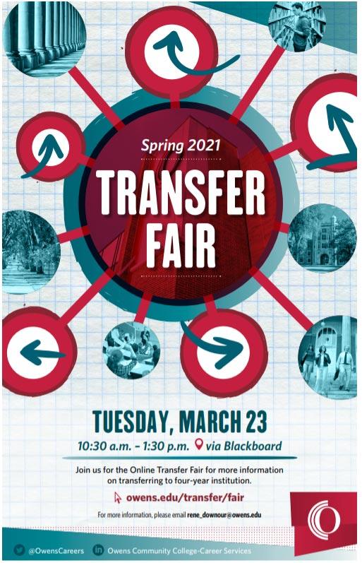 Transfer Fair March 23, 2021