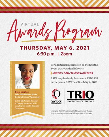 TRIO SSS Virtual Awards Program