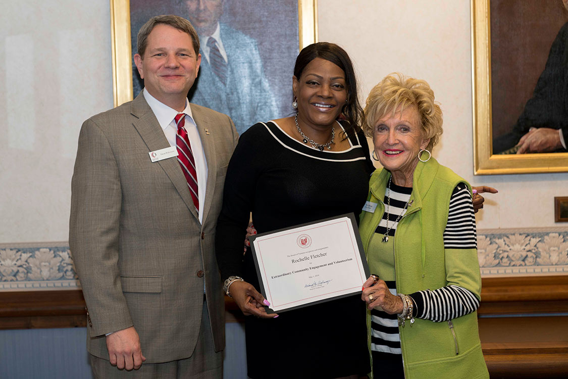 Student Life Committee Recognizes Rochelle Fletcher