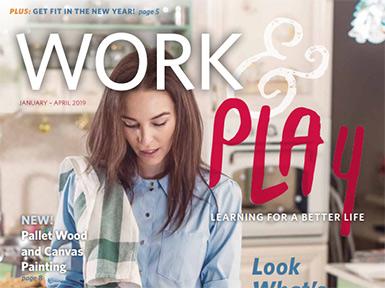 Work Play Spring 2019